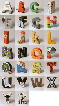 Buchstaben zum Ausdrucken - Screenshot (c) digitprop.com